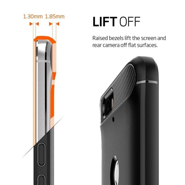spigen rugged armor nexus 6p tough case black terms