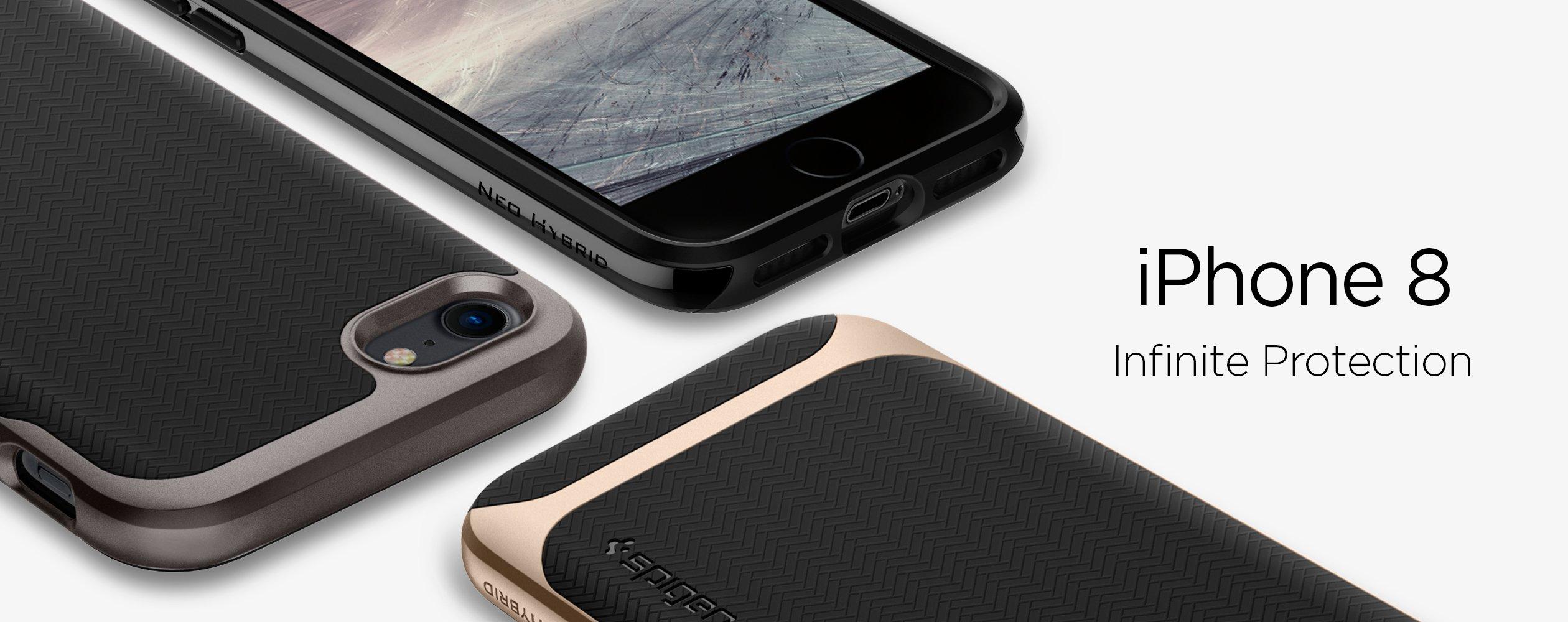 Apple Iphone 8 7 Case Spigen Australia Military Armor Samsung Galaxy S7 Flat Crystal Shell Original 1 2