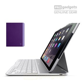 Belkin QODE Slim Style Keyboard Case for Apple iPad Air / Air 2 - Purple
