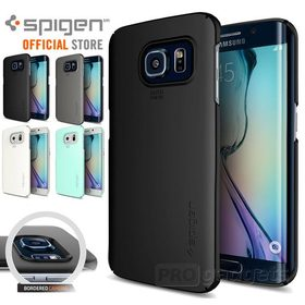Galaxy S6 Edge Case Genuine Spigen Ultra FIT Hard Cover for Samsung