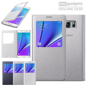 Genuine Samsung Original SM-N920 Galaxy Note 5 S View Flip Case Cover