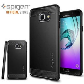 Galaxy A7 2016 Case, Genuine Spigen Rugged Armor Resilient Cover for Samsung Galaxy A7