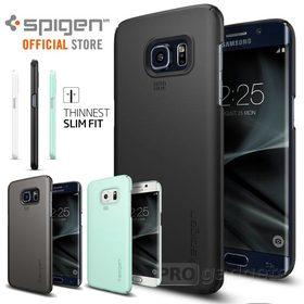 Galaxy S7 Edge Case, Genuine SPIGEN Ultra THIN FIT SLIM Cover for Samsung