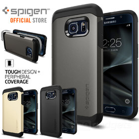 Galaxy S7 Case,Genuine SPIGEN HEAVY DUTY TOUGH ARMOR Cover for Samsung