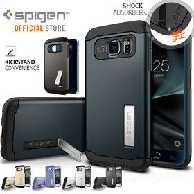 Galaxy S7 Case, Genuine SPIGEN Slim Armor Cover KICK-STAND for Samsung