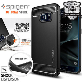 Galaxy S7 Case, Genuine Spigen Rugged Armor Resilient Cover for Samsung