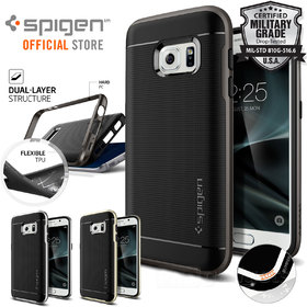 Galaxy S7 Case, Genuine SPIGEN Neo Hybrid Cover with Bumper for Samsung