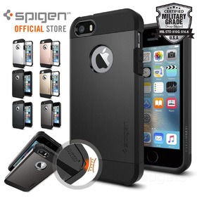 iPhone SE/5S/5 Case,Genuine SPIGEN HEAVY DUTY TOUGH Armor Cover for Apple