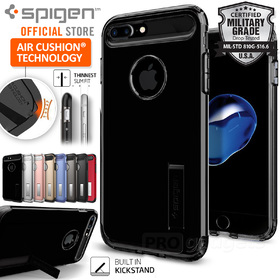 iPhone 7 Case, Genuine SPIGEN SLIM ARMOR Heavy Duty Cover for Apple