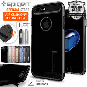 iPhone 7 Plus Case, Genuine SPIGEN SLIM ARMOR Heavy Duty Cover for Apple