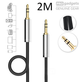 3.5mm Male to Male 2M Car Stereo Audio Auxiliary AUX Cable Cord For MP3 Phone PC