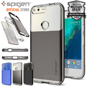 Google Pixel Case, Genuine SPIGEN Neo Hybrid Crystal Cover for Google