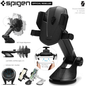 Car Mount Cradle Holder Dock, Genuine Spigen Kuel AP12T (TS35) for Universal/iPhone/Galaxy