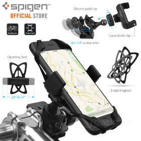 Bike Mount Phone Holder, Genuine Spigen A250 Bicycle Cradle for iPhone / Galaxy