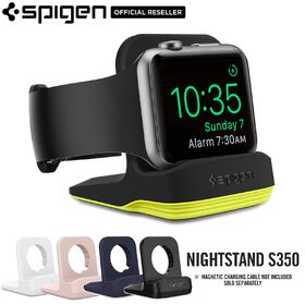 FOR Apple Watch Stand, Genuine SPIGEN Night Stand Mode Watch Charging Dock S350 Suit 38mm/42mm