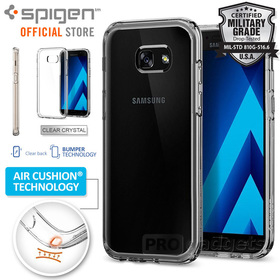 Galaxy A5 2017 Case, Genuine SPIGEN Ultra Hybrid SOFT Bumper Cover for Samsung