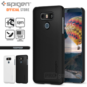LG G6 Case, Genuine SPIGEN Ultra Thin Fit Slim Exact-Fit Hard Cover for LG