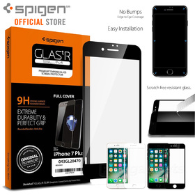 iPhone 8 Plus / 7 Plus Screen Protector, Genuine Spigen Full Cover Tempered Glass Apple
