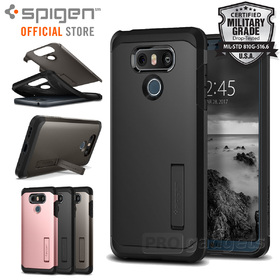 LG G6 Case, Genuine SPIGEN Heavy Duty Tough Armor Cover for LG
