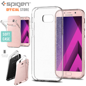 Galaxy A5 2017 Case, Genuine SPIGEN Liquid Crystal Glitter Soft Cover for Samsung