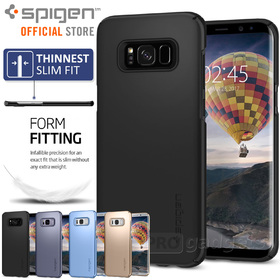Galaxy S8 Case, Genuine SPIGEN Ultra Thin Fit Exact-Fit Slim Cover for Samsung