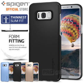 Galaxy S8 Plus Case, Genuine SPIGEN Ultra Thin Fit Exact-Fit Slim Cover