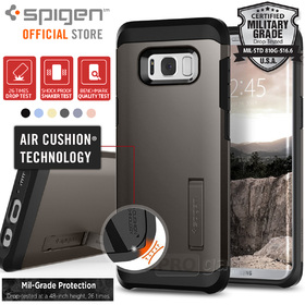 Galaxy S8 Plus Case, Genuine SPIGEN Heavy Duty Tough Armor Cover for Samsung