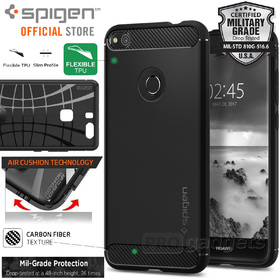 Huawei GR3 P8 Lite 2017 Case, Genuine SPIGEN Rugged Armor Soft Cover for Huawei