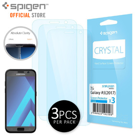 Galaxy A5 2017 Screen Protector, Genuine SPIGEN Crystal Clear Film 3PCS PER PACK