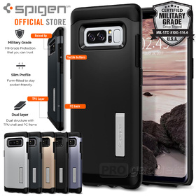 Galaxy Note 8 Case Genuine SPIGEN Slim Armor Heavy Duty Cover for Samsung