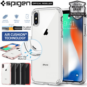 iPhone X Edition Case, Genuine SPIGEN Ultra Hybrid Bumper HARD Cover for Apple