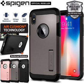 iPhone X Edition Case, Genuine SPIGEN Heavy Duty Tough Armor Cover for Apple