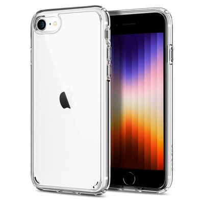 iPhone 7 Case, Genuine SPIGEN Ultra Hybrid 2 Air Cushion Soft Cover for Apple [Colour: Crystal Clear]