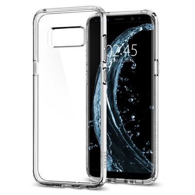 Galaxy S8 Plus Case, Genuine SPIGEN Ultra Hybrid Air Cushion Cover Samsung [Colour: Crystal Clear]