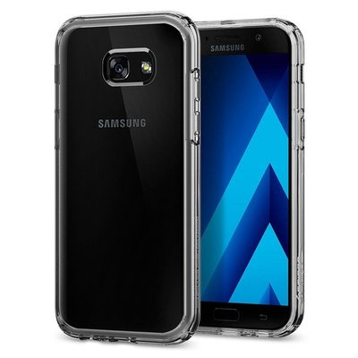 Galaxy A5 2017 Case, Genuine SPIGEN Ultra Hybrid SOFT Bumper Cover for Samsung [Colour: Crystal Clear] - 573CS21157