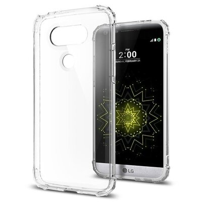 LG G5 Case, Genuine SPIGEN Crystal Shell Bumper Cover for LG [colour : Clear Crystal] - A18CS20133