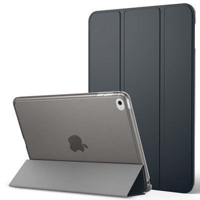 Genuine MoKo Ultra Slim Frosted Back Stand Cover for Apple iPad Mini 4 [Colour: Space Gray] - B01AJOZZ5G