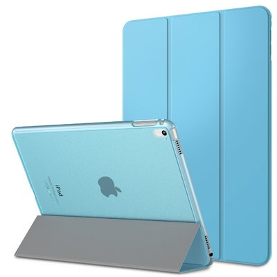Genuine MoKo Ultra Slim Frosted Back Stand Cover for Apple iPad Pro 9.7 [Colour: Light Blue] - B01AJP4XE4