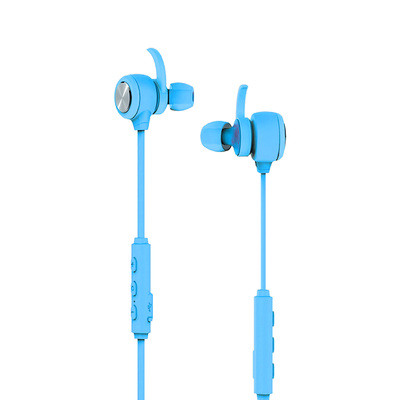 Genuine Mipow VOXTUBE 600 Wireless Bluetooth Sports In-ear Headphones/Headset [Colour: Light Blue]