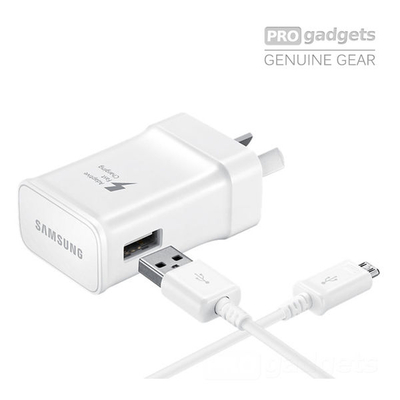 Genuine Samsung 5V / 9V fast AC Charger Travel Adapter for Galaxy S7/S6/Edge/Note 4 5 - EP-TA20HWEUGAU