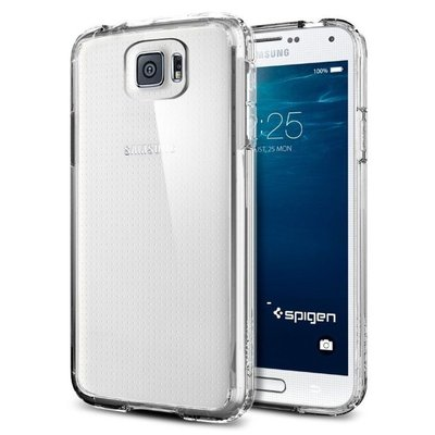 Genuine Spigen Ultra Hybrid Case Cover for Samsung Galaxy S6 [Colour: Crystal Clear ] -  SGP11317