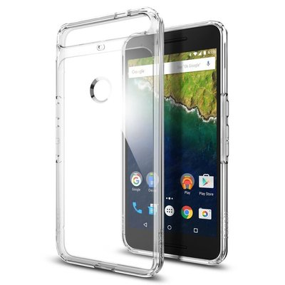 Nexus 6P Case, Genuine Spigen Ultra Hybrid AIR CUSHION Cover for Google Nexus 6P -  SGP11796