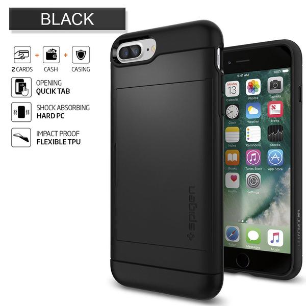 Armor Slide Case For iPhone 7 7 Plus
