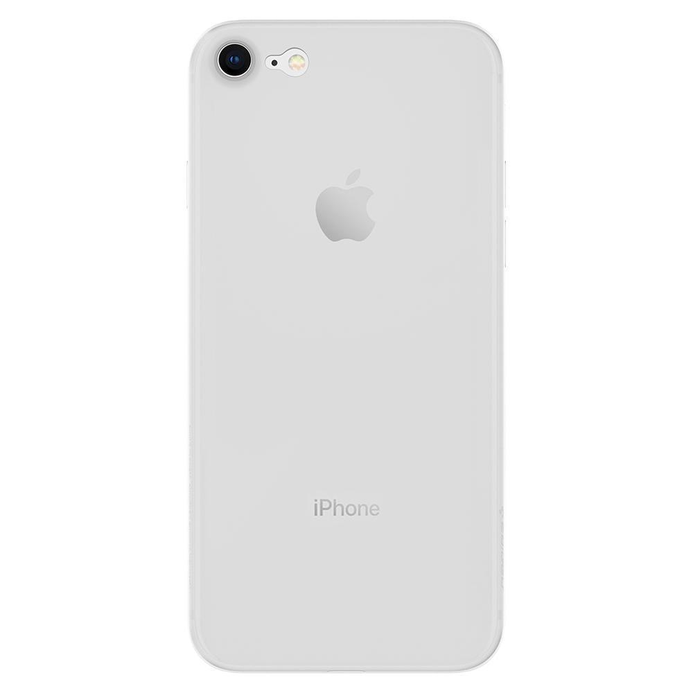 Iphone 8 Case Genuine Spigen Air Skin Ultra Thin Soft Cover For Apple X Black