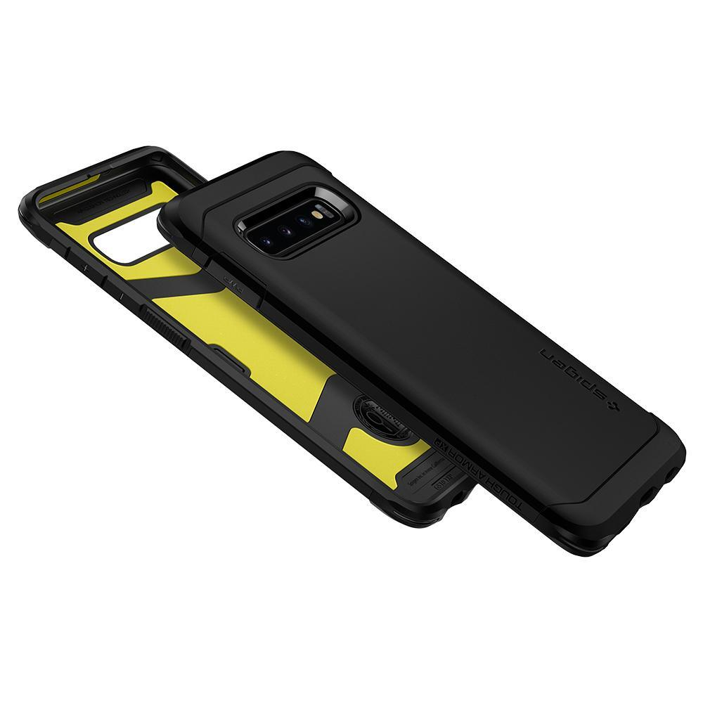 super popular a40fe ca4d6 Galaxy S10 Case, Genuine SPIGEN Shock proof Tough Armor XP Cover for ...