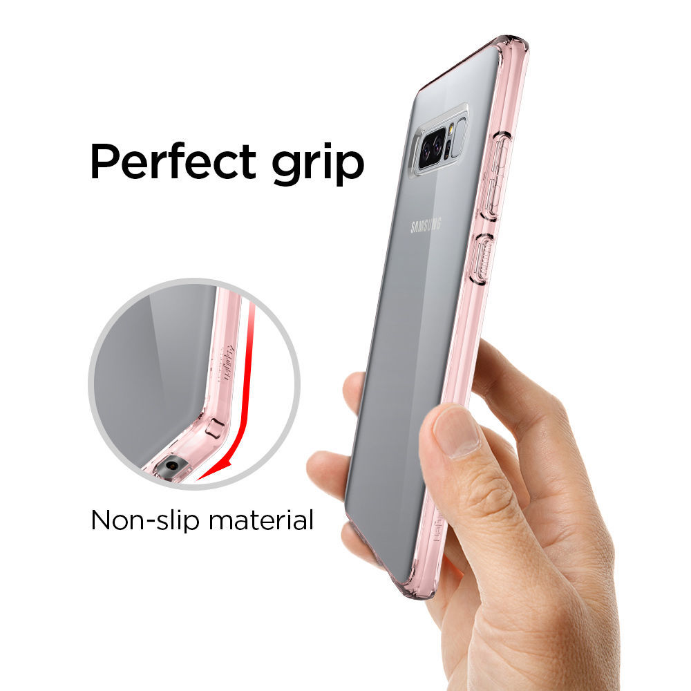 Free Express Galaxy Note 8 Case Spigen Ultra Hybrid For Crystal The Is Best At Displaying Your Samsung Through Its Clear Back Embodies Technology That