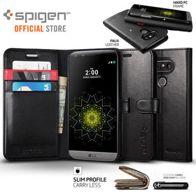 LG G5 Case,Genuine SPIGEN STAND Flip View Wallet S Cover for LG Unpackaged