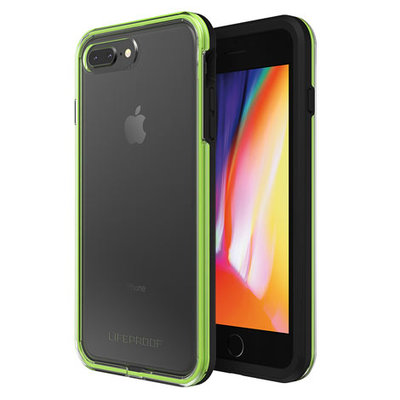 iPhone 8 Plus / 7 Plus Case, Genuine Lifeproof SLAM Clear Back Drop Protection Cover for Apple [Colour:Black]