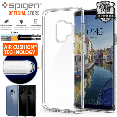 Galaxy S9 Case, Genuine SPIGEN Ultra Hybrid Air Cushion Cover for Samsung