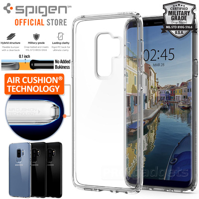 Galaxy S9 Plus Case, Genuine SPIGEN Ultra Hybrid Air Cushion Cover Samsung